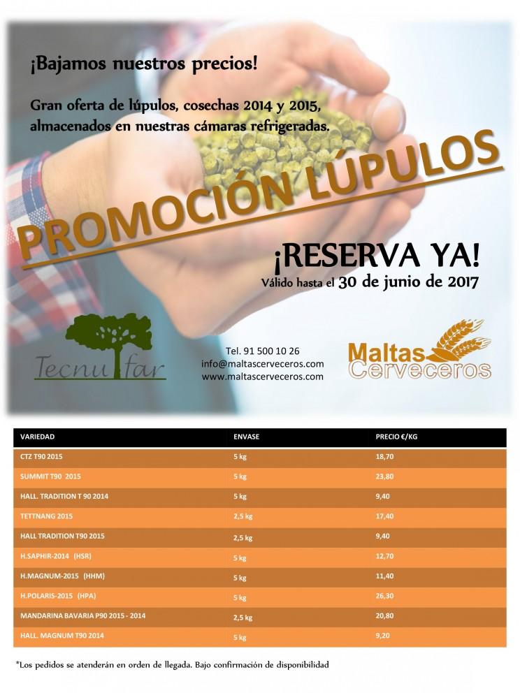 Promocion Lúpulos Cosecha 2014-2015